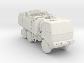 M1083  Check Point Truck 1:160 scale in White Natural Versatile Plastic