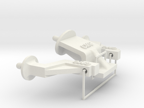 Tamiya Super Blackfoot Body Mounts in White Strong & Flexible