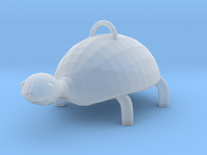 Turtle  in Smooth Fine Detail Plastic: Extra Small