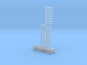 Auflagebock für Tieflader ähnlich Goldhofer 2750mm in Smooth Fine Detail Plastic