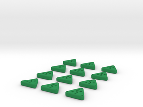 Evade Tokens  in Green Processed Versatile Plastic