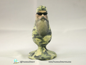 Phil Robertson the racist homophobic Plug w/ sungl in Full Color Sandstone