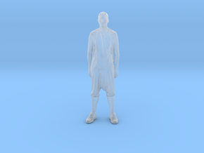 Printle C Homme 029 - 1/76 - wob in Smooth Fine Detail Plastic