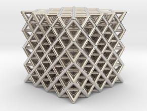 512 Tetrahedron Grid in Platinum