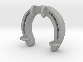 Horseshoe Charm 07 in Aluminum