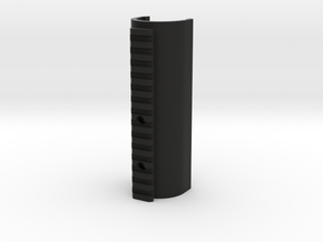 150mm_round_trishot handguard in Black Natural Versatile Plastic