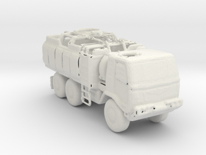 M1083 Check Point Truck 1:220 scale in White Strong & Flexible