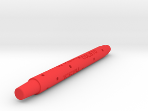 Adapter: Sheaffer RB To Coleto in Red Processed Versatile Plastic