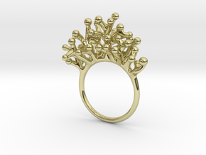 Ring Botryoides in 18k Gold Plated Brass: 7 / 54