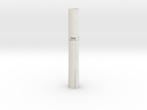 1/48 Titan II Airframe in White Natural Versatile Plastic