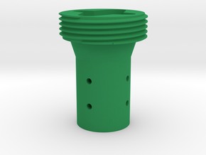 Force Feedback 2 to Thrustmaster adapter - 47mm in Green Processed Versatile Plastic