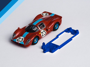 1/32 Scalextric Ferrari P4 Chassis for Slot.it SW  in White Natural Versatile Plastic