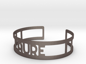 Cuff LAURE in Stainless Steel