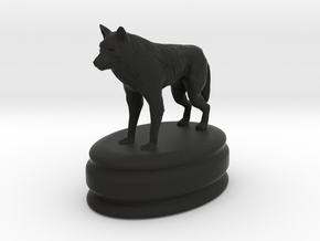 got dire wolf pawn in Black Natural Versatile Plastic