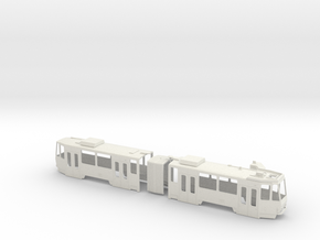 Tatra KT4DtM 0 Scale [body] in White Strong & Flexible: 1:48