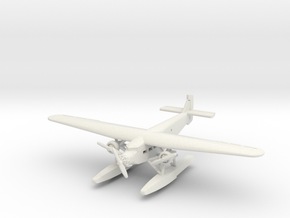 Ford 5-AT Trimotor Floatplane in White Natural Versatile Plastic: 1:288