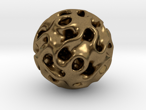 Space Ball in Natural Bronze