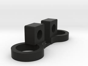 Tamiya TRF419X  Ultra smooth Sway Roll bar mounts in Black Natural Versatile Plastic