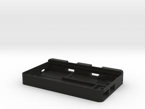 NANO_Pi2_BOX in Black Natural Versatile Plastic