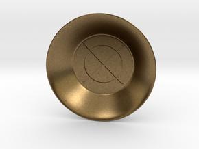 Seal of Jupiter Charging Bowl (small) in Natural Bronze