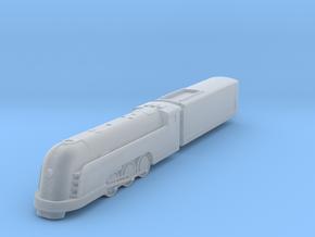 Mercury Locomotive in Smoothest Fine Detail Plastic