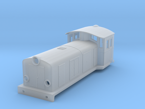 Swedish SJ electric locomotive type Ua - N-scale in Smooth Fine Detail Plastic