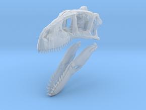 1:35 Utahraptor skull in Smooth Fine Detail Plastic
