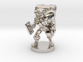 Goblin Book Merchant in Platinum