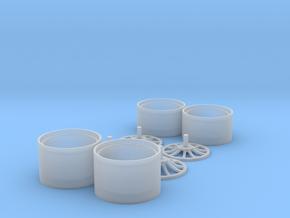 nsx v spoke set in Smooth Fine Detail Plastic