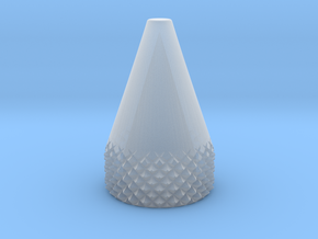 Cone .375 Inch O.D. in Smoothest Fine Detail Plastic