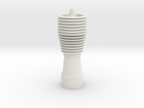 Barrel Assembly DT-12 in White Natural Versatile Plastic