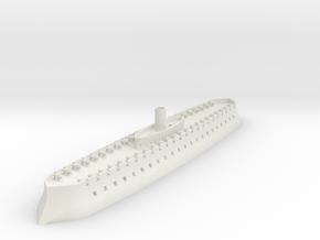 1/700 Tiamarda Battery in White Natural Versatile Plastic