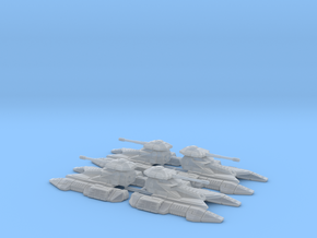 1/270 Imperial Fighter Tank (4) in Frosted Ultra Detail
