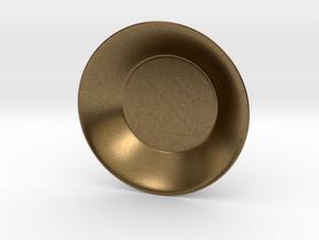 Seal of Mercury Charging Bowl (small) in Natural Bronze