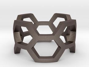 Honey Ring in Stainless Steel: 4 / 46.5