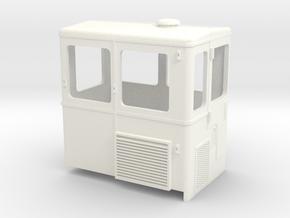 S2m-191c   Skl24 Führerhaus in White Processed Versatile Plastic