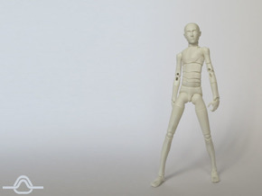 1:12 FUD ALTER EGO Male Bjd Doll Kit in Smooth Fine Detail Plastic