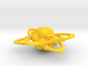Atom d6 in Yellow Strong & Flexible Polished