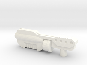Legends Class Heavy Shotgun in White Strong & Flexible Polished