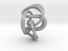 Knot 8₂₀ (Square)  in Aluminum: Extra Small