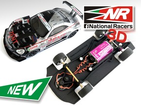 3D Chassis - NINCO Lexus SC430 - Combo in Black Strong & Flexible