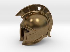 spartan helmet in Natural Bronze