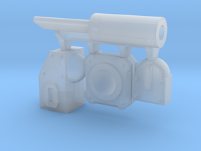 Modular Piston in Smooth Fine Detail Plastic