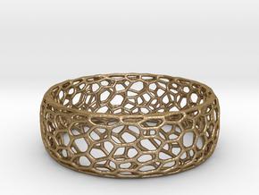 Cytoplast Bracelet in Polished Gold Steel