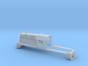 N-scale Whitcomb 65 Ton Loco Shell in Smooth Fine Detail Plastic