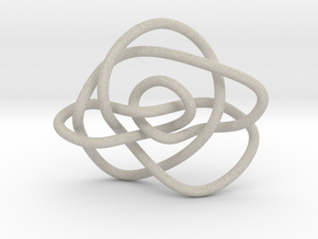 Ochiai unknot (Circle) in Natural Sandstone: Extra Small