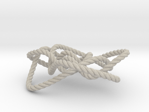 Ochiai unknot (Rope) in Natural Sandstone: Medium