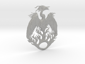 The Mythical Phoenix in Aluminum