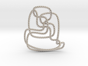Thistlethwaite unknot (Rope) in Platinum: Extra Small