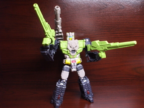 Shatterblaster for Titans Return Hardhead in White Strong & Flexible Polished